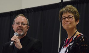 "Randall Partin, Provost & Rebekah Simon-Peter talking ""Relevant, Passionate, Life-Changing"" Churches."